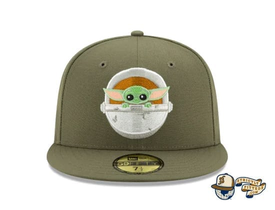 The Mandalorian Collection 59Fifty Fitted Cap by Star Wars x New Era baby yoda