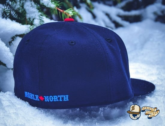 Winter Wolf Navy 59Fifty Fitted Cap by Noble North x New Era back