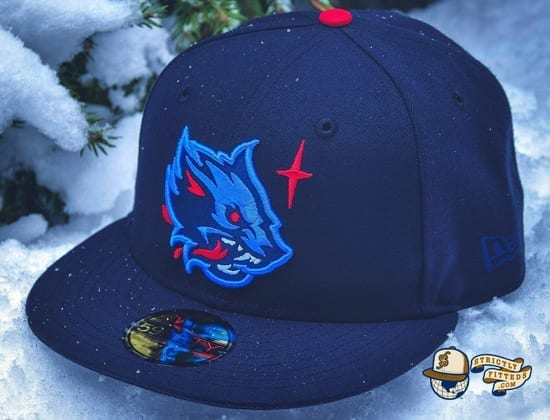 Winter Wolf Navy 59Fifty Fitted Cap by Noble North x New Era
