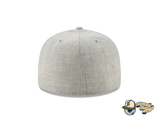 Animaniacs Heather Grey 59Fifty Fitted Cap by New Era back
