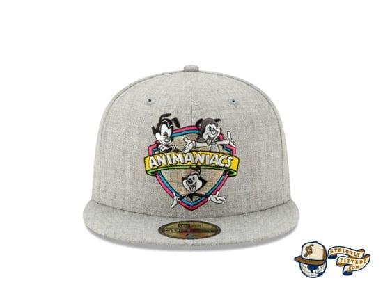 Animaniacs Heather Grey 59Fifty Fitted Cap by New Era