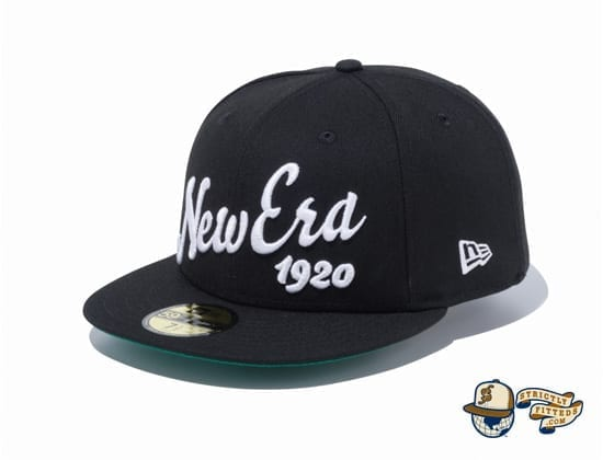Big Logo 1920 59Fifty Fitted Cap by New Era flag side