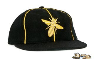 Burlington Bees 1932 Vintage Fitted Cap by Ebbets