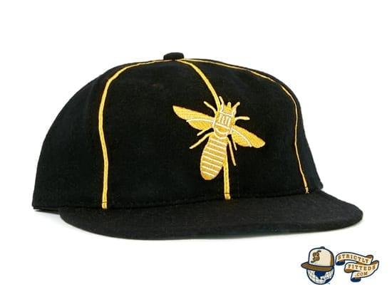Burlington Bees 1932 Vintage Fitted Cap by Ebbets