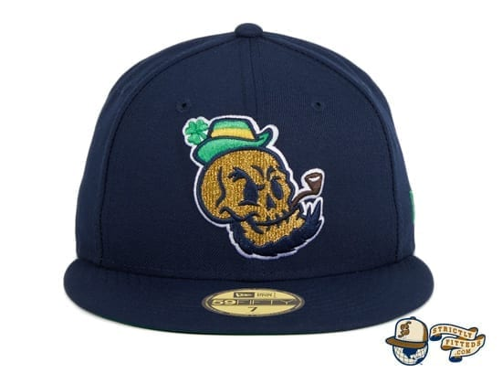 Chamuco Golden Domers Navy 59Fifty Fitted Hat by Chamucos Studio x New Era