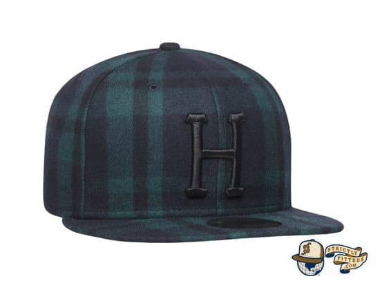 Classic H Flannel 59Fifty Fitted Hat by Huf x New Era