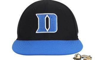 Duke Blue Devils Nike Aerobill Performance True Black Fitted Hat by Nike