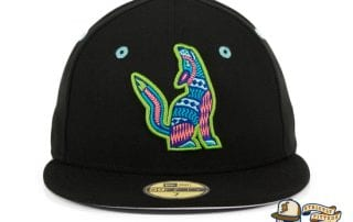 Hat Club Exclusive Hillsboro Sonadores Black Copa de la Diversion 59Fifty Fitted Hat by MiLB x New Era