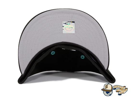 Hat Club Exclusive Hillsboro Sonadores Black Copa de la Diversion 59Fifty Fitted Hat by MiLB x New Era underbill