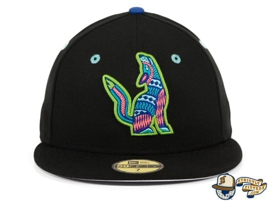 Hat Club Exclusive Hillsboro Sonadores Black Copa de la Diversion 59Fifty Fitted Hat by MiLB x New Era