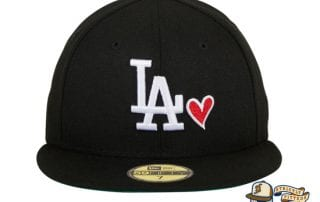 Hat Club Exclusive Los Angeles Dodgers Heart 59Fifty Fitted Hat by MLB x New Era