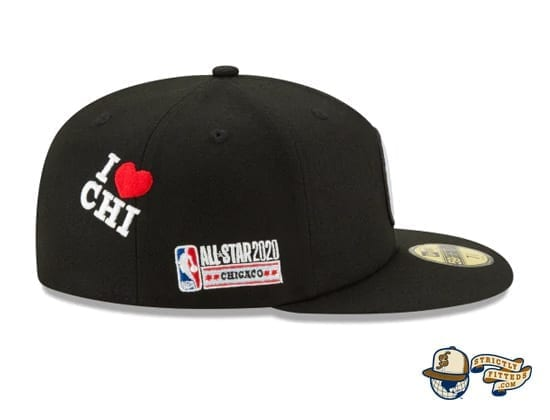 Just Don NBA All Star Game 59Fifty Fitted Cap by Just Don x NBA x New Era patch side