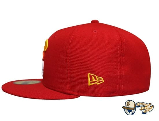Mua Red Multi 59Fifty Fitted Cap by Fitted Hawaii x New Era flag side