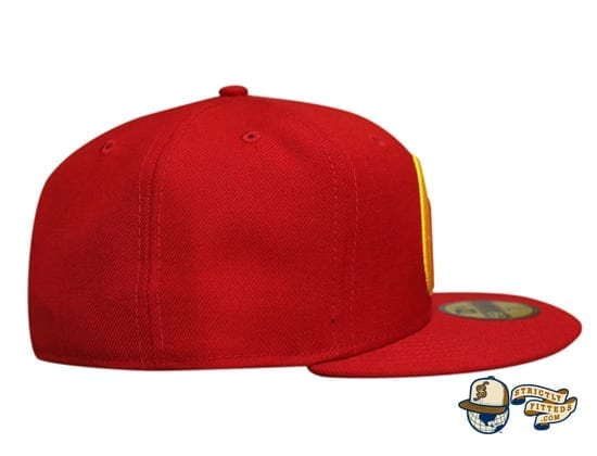 Mua Red Multi 59Fifty Fitted Cap by Fitted Hawaii x New Era right side