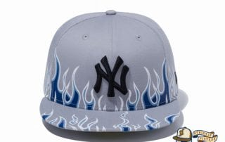 New York Yankees Fire Pattern 59Fifty Fitted Cap by MLB x New Era