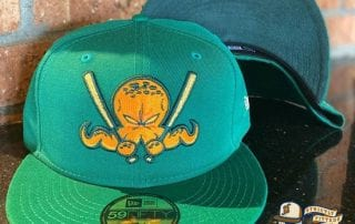 Octoslugger 2020 St. Patrick's Day 59Fifty Fitted Hat by Dionic x New Era