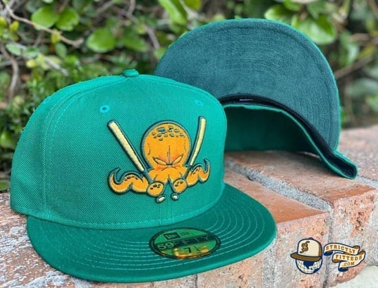 Octoslugger 2020 St. Patrick's Day 59Fifty Fitted Hat by Dionic x New Era side