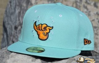 Shaka-Tako Blue Tint 59Fifty Fitted Hat by Dionic x New Era