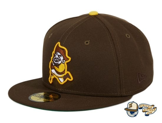 Smugglers TBTC Brown 59Fifty Fitted Hat by Thrill SF x New Era flag side