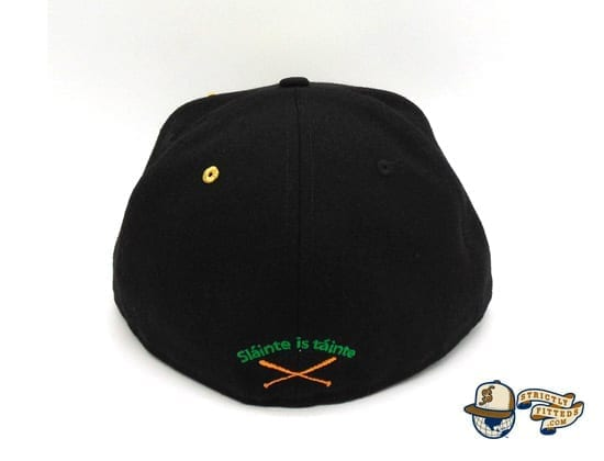 St. Patrick's Day Special 59Fifty Fitted Cap by Justfitteds x New Era back