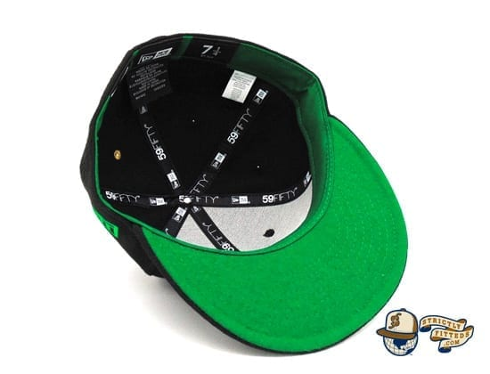 St. Patrick's Day Special 59Fifty Fitted Cap by Justfitteds x New Era underbill