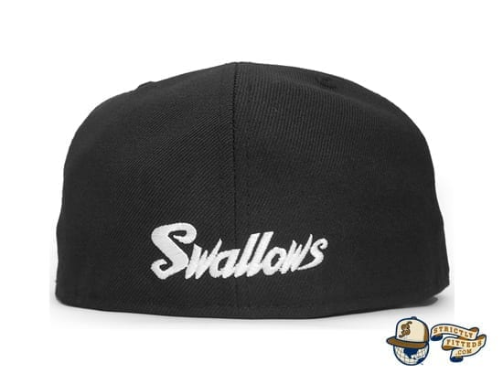 Tokyo Yakult Swallows 59Fifty Fitted Cap by Amazingstore x New Era back