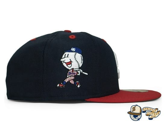 Tokyo Yakult Swallows 59Fifty Fitted Cap by Amazingstore x New Era patch side