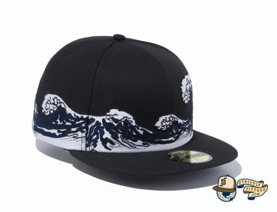 Ukiyo-e 59Fifty Fitted Cap by New Era right front