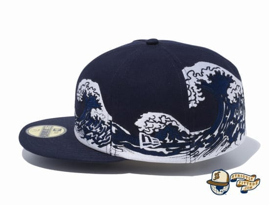 Ukiyo-e 59Fifty Fitted Cap by New Era left side