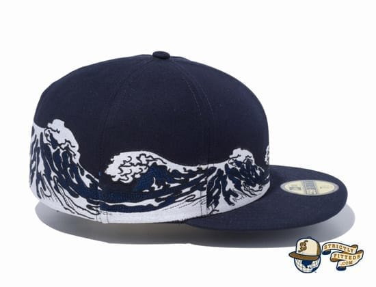 Ukiyo-e 59Fifty Fitted Cap by New Era side