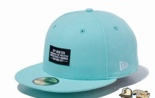Woven Patch 1920 59Fifty Fitted Cap by New Era aqua