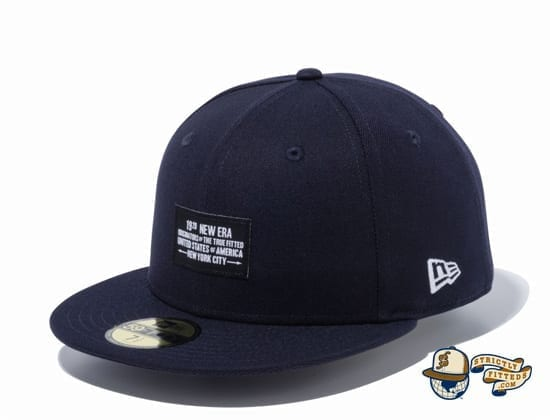 Woven Patch 1920 59Fifty Fitted Cap by New Era navy blue