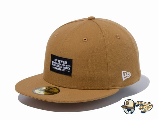 Woven Patch 1920 59Fifty Fitted Cap by New Era wheat