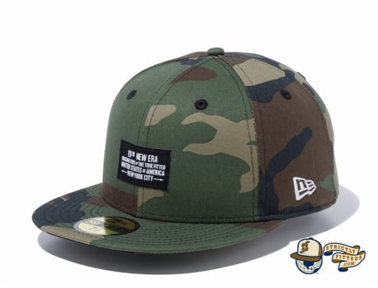 Woven Patch 1920 59Fifty Fitted Cap by New Era camo