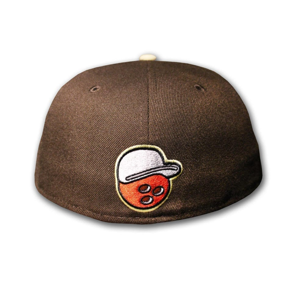 Durham Dudes 59FIFTY Fitted Cap by Over Your Head X New Era back