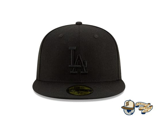 Black On Black 100th Anniversary 59Fifty Fitted Cap Collection by MLB x New Era