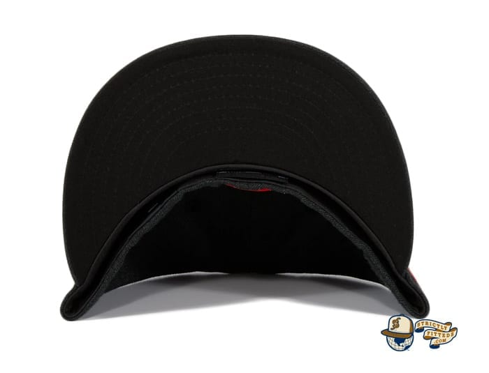 Chamuco Base Stealers Black 59Fifty Fitted Hat by Chamucos Studio x New Era undervisor