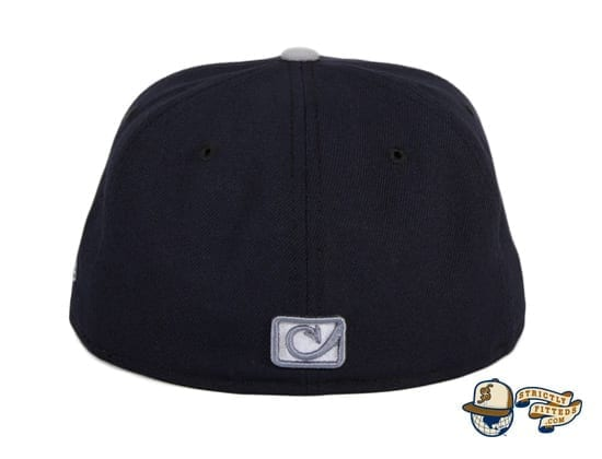 Chamuco Brawlers Navy 59Fifty Fitted Hat by Chamucos Studio x New Era back