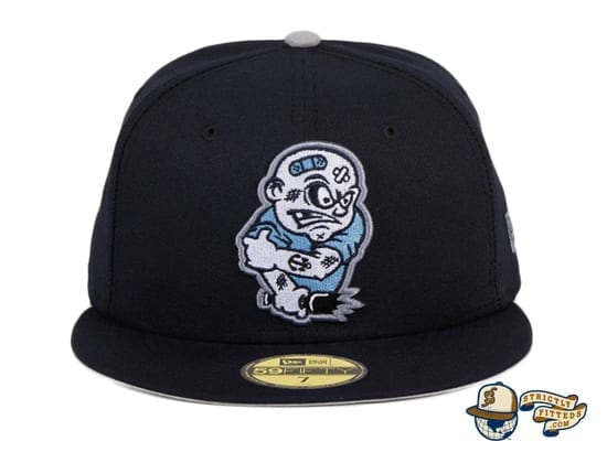 Chamuco Brawlers Navy 59Fifty Fitted Hat by Chamucos Studio x New Era