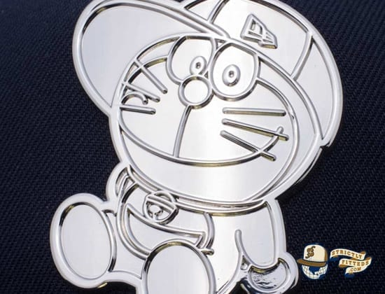 Doraemon Original Metal Plate 59Fifty Fitted Cap by Doraemon x New Era detail