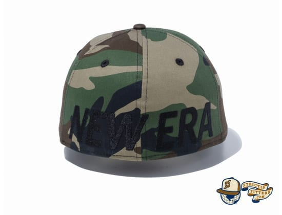 Essential New Era Logo 59Fifty Fitted Cap by New Era back