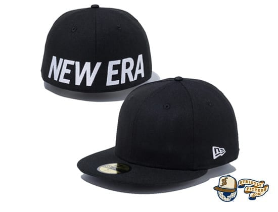 Essential New Era Logo 59Fifty Fitted Cap by New Era black