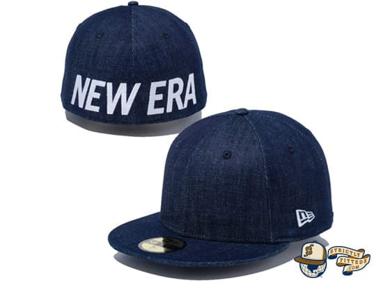 Essential New Era Logo 59Fifty Fitted Cap by New Era jean