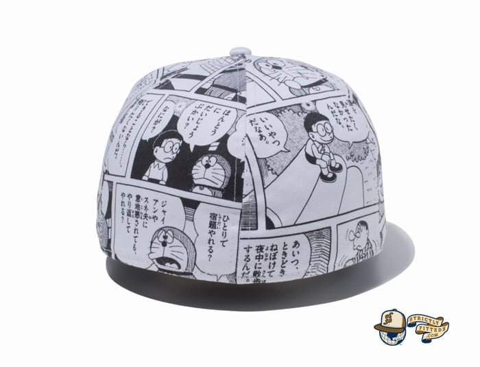 Goodbye, Doraemon All Over Print 59Fifty Fitted Cap by Doraemon x New Era back