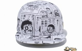 Goodbye, Doraemon All Over Print 59Fifty Fitted Cap by Doraemon x New Era