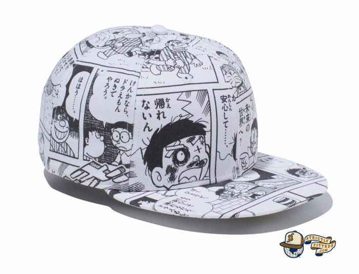 Goodbye, Doraemon All Over Print 59Fifty Fitted Cap by Doraemon x New Era right side