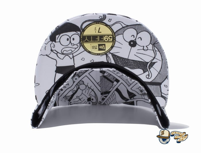Goodbye, Doraemon All Over Print 59Fifty Fitted Cap by Doraemon x New Era undervisor