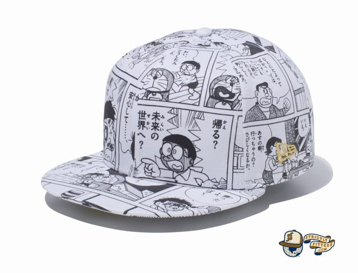 Goodbye, Doraemon All Over Print 59Fifty Fitted Cap by Doraemon x New Era flagside