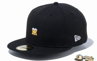 Hanshin Tigers Mini Logo 59Fifty Fitted Cap by NPB x New Era flag side