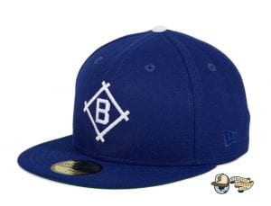 Hat Club Exclusive Brooklyn Dodgers 1912 Royal 59Fifty Fitted Hat by MLB x New Era flag side